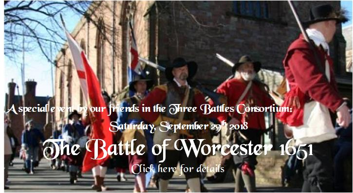 Battle of Worcester 2018 banner