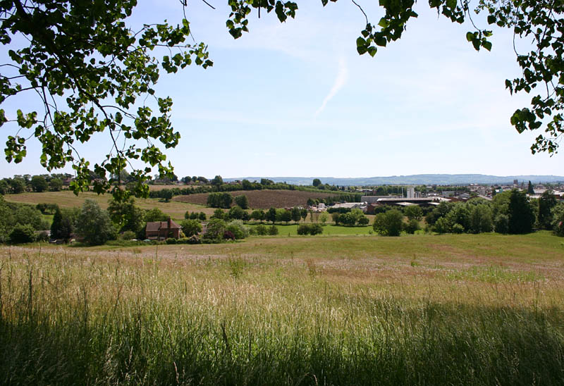The view from Battlewell, Greenhill, Evesham